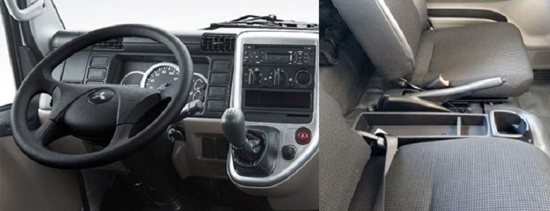 Nội thất xe tải Mitsubishi Fuso Canter