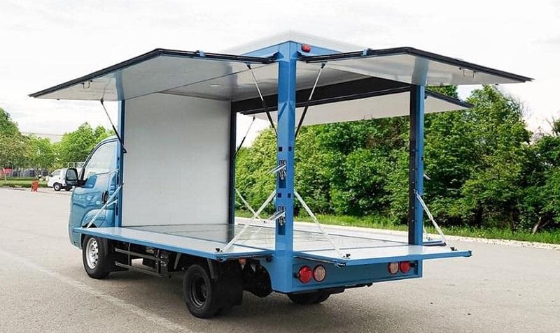 Thùng Xe tải KIA K200 bán hàng lưu động