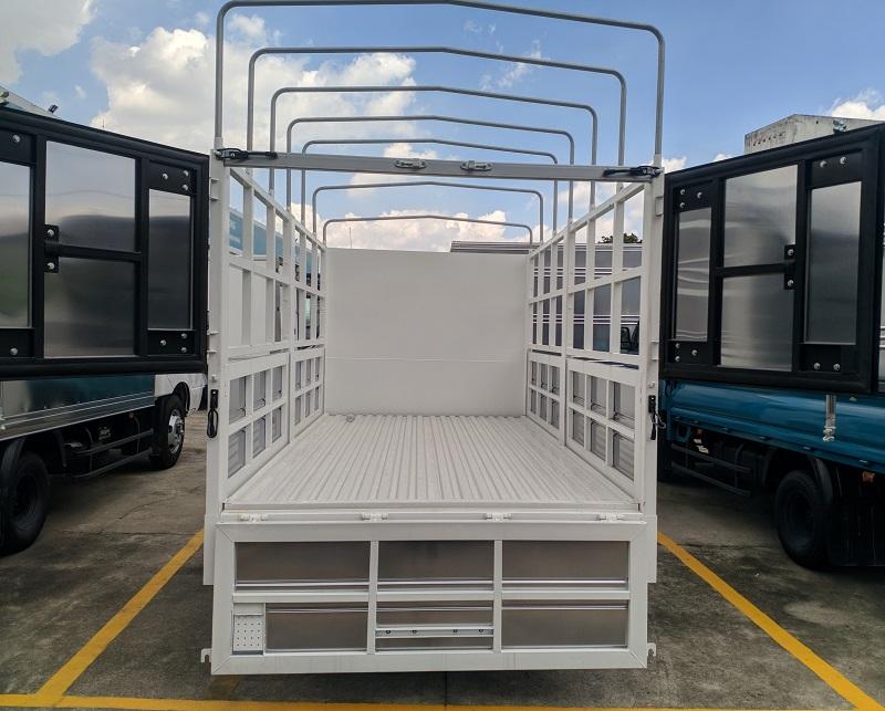 Thùng mui bạt mở 5 bửng Xe tải KIA K200