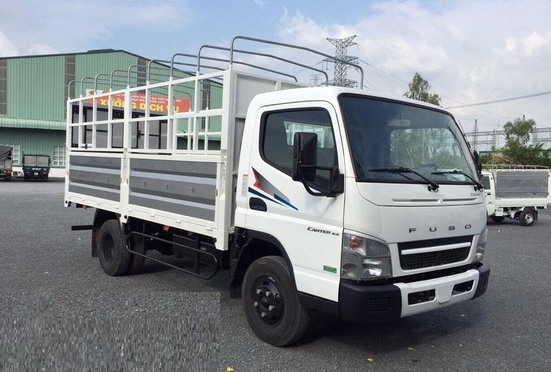 Xe Mitsubishi Fuso Canter 6.5 E4 thùng mui bạt