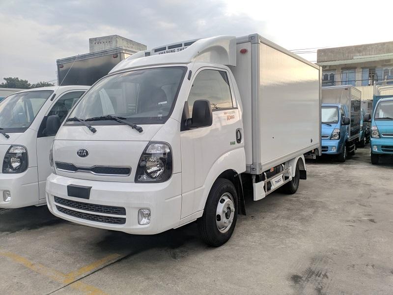 xe tải kia k250 thùng đông lạnh