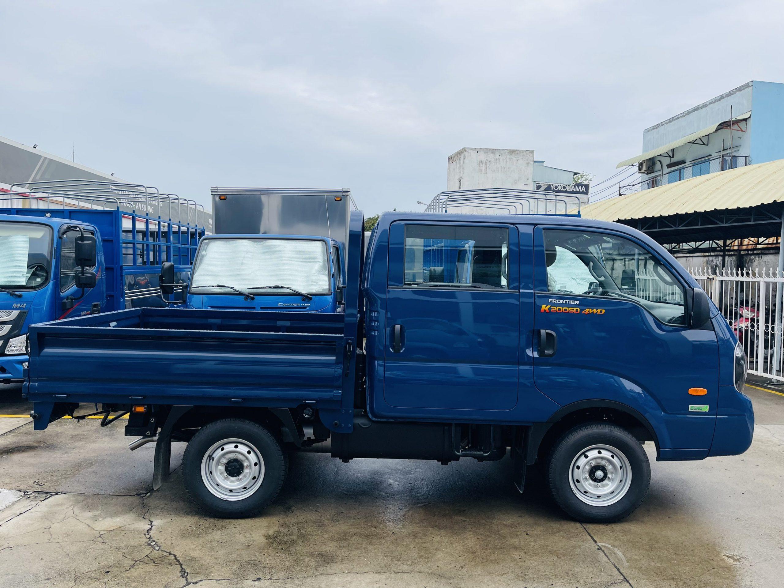 KIA PRONTIER K200SD – 4WD